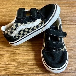 Vans size 10 toddlers